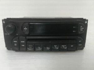 Audio Equipment Radio Receiver Radio Fits 02-07 LIBERTY 1090457