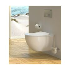 Hänge Dusch WC Taharet Spülrandlos Bidet Funktion Toilette mit Softclose Deckel
