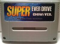 SNES Super Nintendo Ever drive 16 GB UK stock