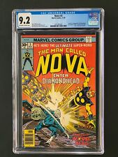 Nova #3 CGC 9.2 (1977) - Origin & 1st app of Diamondhead