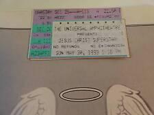 1993 A.D. Tour Jesus Christ Superstar Concert PROGRAM & TICKET STUB Ted Neely