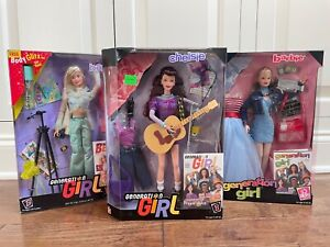 1998 & 1999 Lot of 3 Chelsie and Barbie Generation Girl Barbies NRFB