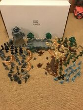 Ww2 Classic Toy Soldiers Playset. Mixed Soldiers Lot Of Ww2 Soldiers+Accessories
