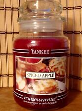 Yankee Candle Vhtf Black Band Spiced Apple, Vintage, Rare, Collectible Scent