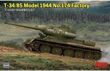 Rye Field Model 5040 T-34/85 Model 1944 No.174 Factory 1:35