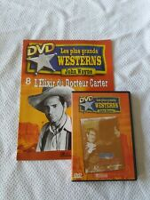 DVD L'ELIXIR DU DOCTEUR CARTER JOHN WAYNE NO CELLO + FASCICULE