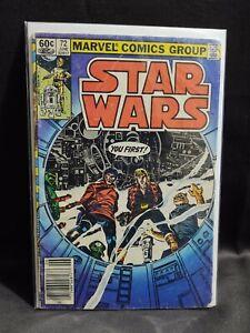 Star Wars 1st Series #72 1983 VG Luke Skywalker Lando Calrissian Rik Duel Dani