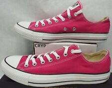 ae218bc8330 New Mens 9 Converse Chuck Taylor CT OX Cosmos Pink Canvas Shoes  55 144806F