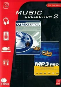 eJay Music Collection - MP3 Pro & DJ Mixstation - PC CD-Rom - Brand New