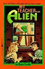 Complete Set Series Lot 4 My Teacher Is an Alien books by Bruce Coville Children