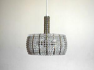 rupert nikoll emil stejnar deckenlampe 50er mid century design pendant lamp