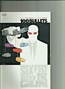 100 Bullets Six Feet Under the Gun Trade Paperback/Graphic Novel Vertigo Comics