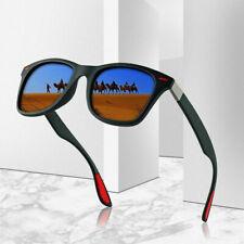 Moda Gafas de Sol Polarizadas Hombre Mujer Conducción Cuadrado Marco UV400