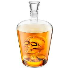 More details for final touch brainfreeze skull decanter for vodka whisky rum tequila 1l (33.8oz)