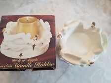 Giftco Pillar Candle Holder Circle Of Angels Christmas New In Box