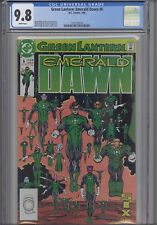 Green Lantern Emerald Dawn #6 CGC 9.8 1990 Marvel Comic: New Frame