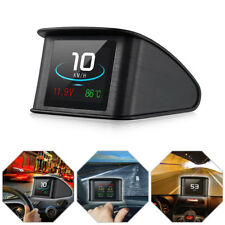 1x Car HUD Head Up Display OBD2 II EUOBD Fuel Consumption Speed Warning System