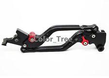 CNC Black Long Adjustable Clutch Brake Levers For YAMAHA Blaster 2006 TZR50 2010