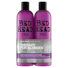 TIGI BedHead Dumb Blonde Duo Shampoo & Conditioner 2 x 750ml Therapy For Blondes
