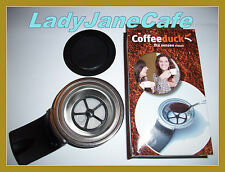 NEW refillable Coffeeduck Senseo CLASSIC 2 pod FREE P&P HD7810 - HD7814