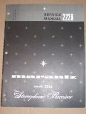 Marantz Service/Repair Manual~2226 Receiver