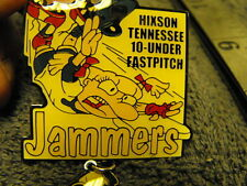 "1999s Hixson Tn. ""JAMMERS"" Girls Fast Pitch Softball Collectors Pin"