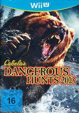 Nintendo Wii U Spiel * Cabela´s Dangerous Hunts 2013 * Cabelas * Big Game Hunter