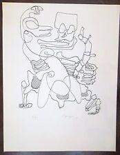 Charles Lapicque, Lithographie 1969 Signée en bas au centre P 330