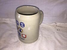 Muncher Beer Stein with German Logos store#D2