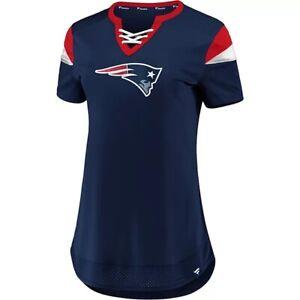 Fanatics Women's New England Patriots Navy Athena Football Jersey Extra Large XL