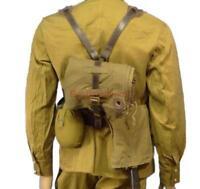 Soviet Russian Army Soldier Uniform Belt supporting Flask Shovel Cloak Tent USSR