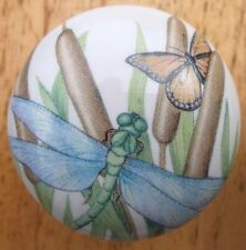 Cabinet Knobs DragonFly in Reeds cat tails #1