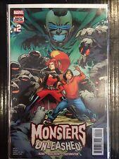 Monsters Unleashed (Vol 3) #2 NM- 1st Print Free UK P&P Marvel Comics 2017