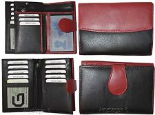 Women's wallet. Leather Wallet. Genuine lambskin leather wallet Ladies wallet BN