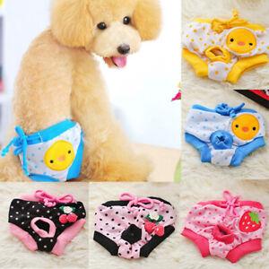 Female Dog Sanitary Pants Lacing Pet Physiological Diaper Menstrual Underwear
