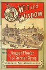 Wit & Wisdom GG Green August Flower & German Syrup 1888 Almanac