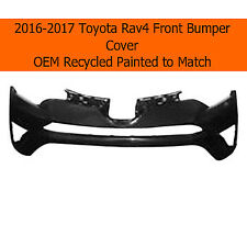 2016-2017 Toyota Rav4 Front Bumper Cover Painted to Match OEM Reconditioned