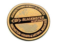 Blackwater Worldwide Embroidered Airsoft Cosplay Patch