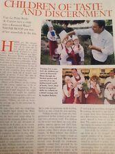 Ephemera 2003 Article Folded Raymond Blanc La Petite Ecole De Cuisine  M5174