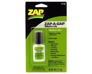 ZAP Kleber Brush-On Sekundenkleber ZAP-A-GAP Pinsel 7g 1/4 oz. ZPT100