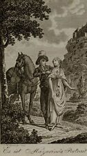 "Wagner, ""it is mazarino's PORTRAIT!"", ECR hasselmann, 1802, Etching"
