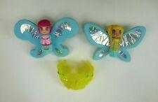 Poupée WINX mini fée volante bracelet jaune CHATTA et LOCKETTE