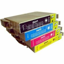 4 x Ink Cartridges for Epson C64 C66 C68 C84 C86 C66+ C84N C84WN CX3600 CX3650
