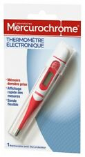Thermomètre médical digital Laboratoires MERCUROCHROME bébé enfant adulte fiable