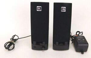 Compaq JBL Platinum Series Computer Speakers Wired TESTED WORKING