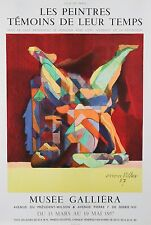 """""""Acrobat"""" by Jacques Villon Signed Original Lithograph Poster 1957 29""""x19 1/2"""""""
