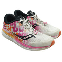 SAUCONY Kinarva 10 DUNKIN DONUTS Boys Athletic Running Shoes Youth Size 1.5