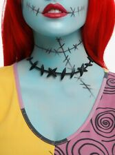 Nightmare Before Christmas Sally Stitches Choker Costume Necklace Cosplay