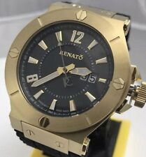 Renato Wilde Beast 45mm Swiss Quartz Sport Black Dial Watch - Only 25 Produced