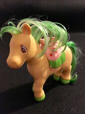 My Lityle Pony 1984 Yellow With Green Hair Removable Saddle